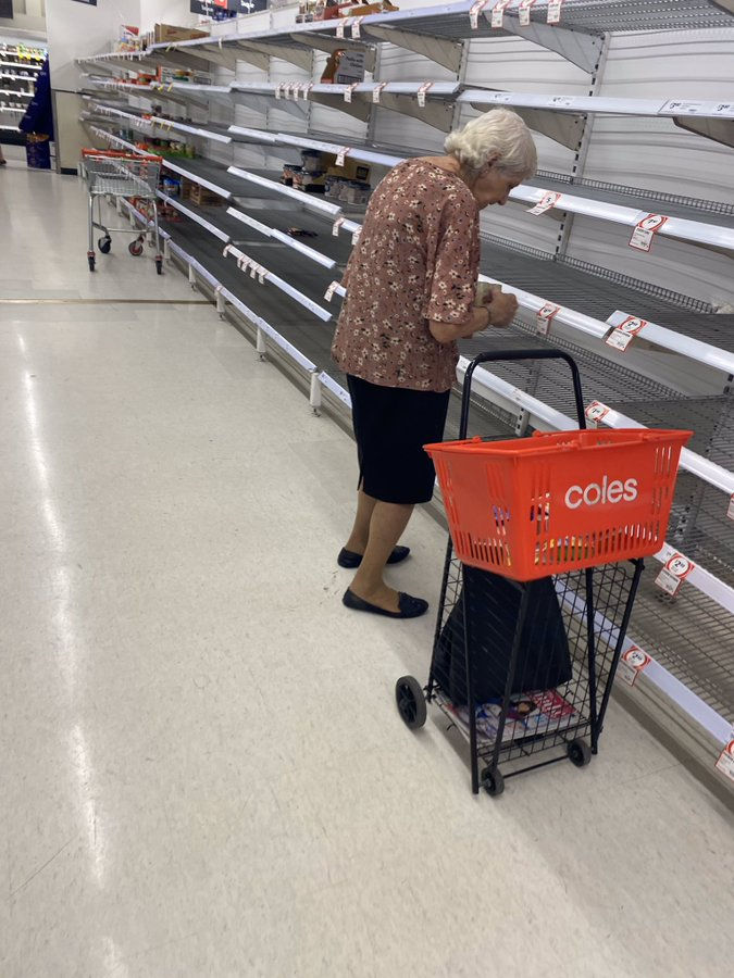 オーストラリアスーパー買占め